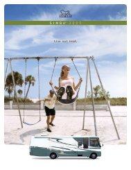 2005 Safari Simba Brochure PDF with Floorplans and Specs