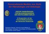Präsentation - Ärztekammer Berlin