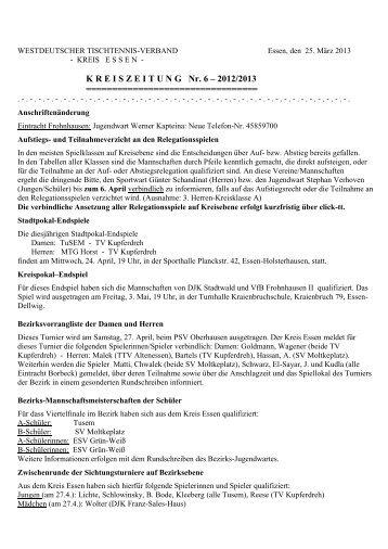Kreiszeitung 6 2012/2013 - Siegelonline.de
