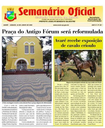 Praça do Antigo Fórum será reformulada - Câmara Municipal da ...