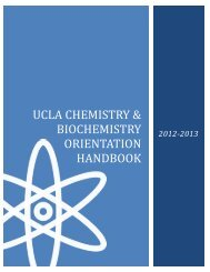 Download - UCLA Department of Chemistry and Biochemistry