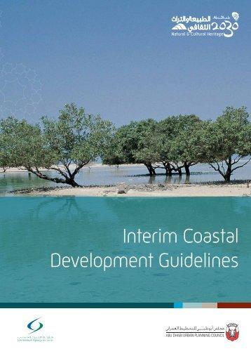 Interim Coastal Development Guidelines