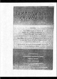 88. McCroskey, J. C., & Richmond, V. P. (1979). The impact of ...
