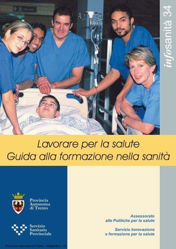 info sanità 34 - Trentino Salute