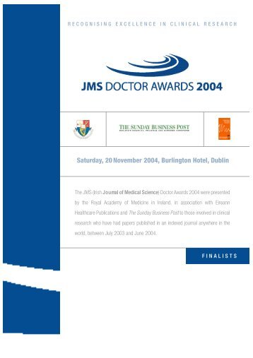 SUPP PAGES 04' - IJMS | Irish Journal of Medical Sciences