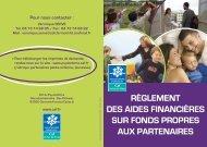 Téléchargez le réglement d'aides financières aux partenaires - Caf.fr