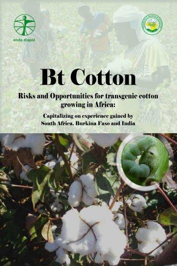 Bt Cotton - Enda-Diapol