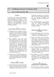 Satzung des Solidaritätsfonds - Ärztekammer Berlin