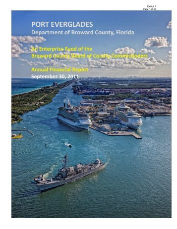 2011 Port Everglades Annual Report