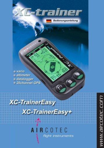 XC-TrainerEasy Handbuch als pdf-Datei zum download - Aircotec