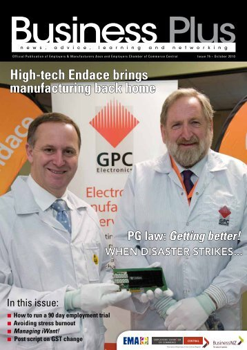 High-tech Endace brings manufacturing back home - EMA