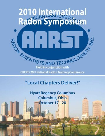 2010 International Radon Symposium - Aarst.com