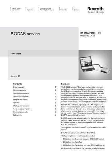BODAS-service - Airline Hydraulics