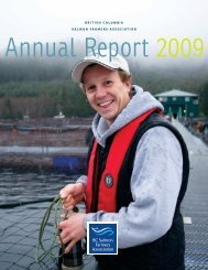 british columbia salmon farmers association - BC Salmon Farmers ...