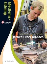 Medlemstidning nr 1 2012 - IF Metall