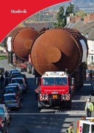 Annual Report 2012 - Studsvik