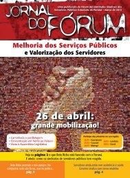 Jornal do Forum - SindiSeab