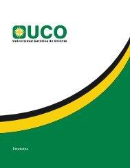 nuevos estatutos - UCO