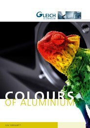 ELOX PLUS Flyer - GLEICH Aluminium