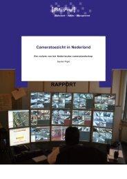 Rapport cameratoezicht DSP-groep voor WODC definitief (met Engelse samenvatting)