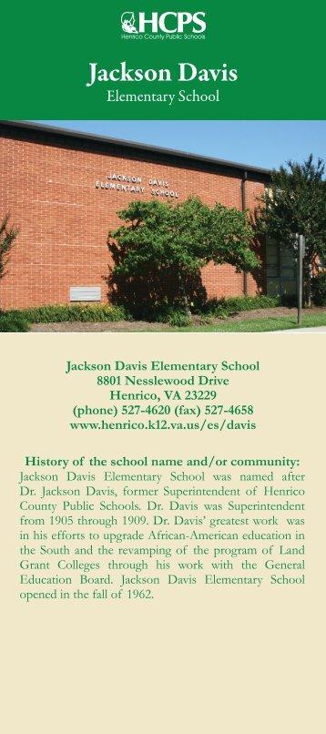 Jackson Davis - Henrico County Public Schools