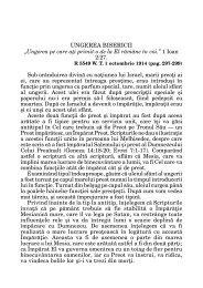 Vol. 12, Nr. 1 Ungerea Bisericii - AGS Consulting
