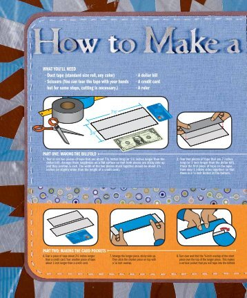 How to Make a Duct Tape Wallet - USAA.com