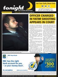 officer charged in yatim shooting appears in court - tonight Newspaper