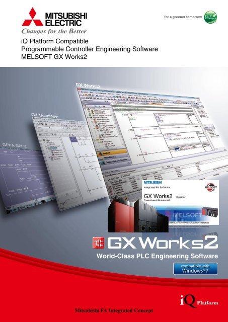 iQ Platform Compatible Programmable Controller Engineering
