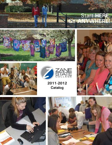 Go ANYWHERE! Start HERE. - Zane State College