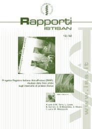Progetto RIAP: risultati della fase pilota sugli interventi ... - OER Puglia