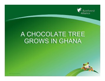 Ghana slideshow final - Rainforest Alliance