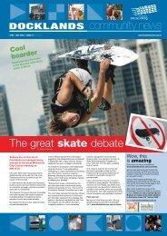 The great skate debate - Docklands News