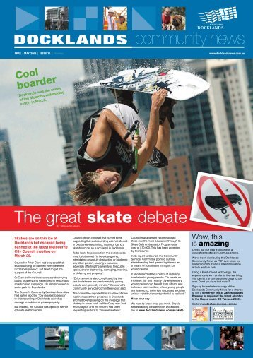 The great skate debate - Docklands News