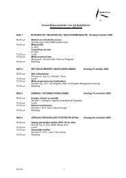 Cursus Milieucoördinator voor het Bedrijfsleven ... - BMD Advies Oost