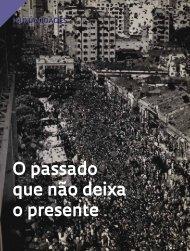O passado que não deixa o presente - Revista Pesquisa FAPESP
