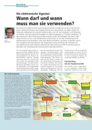 Artikel lesen (208 KB) - IT & LAW Consulting GmbH