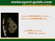 brief presentation - Motorsport-Guide.com
