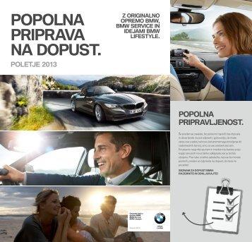 BMW Service News Prenesite tukaj