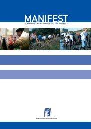 Eurooppalainen vapaaehtoistyön manifesti - Kansalaisareena