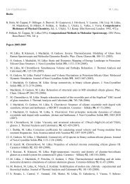 List of publications M. Liška Books R. Boča, M. Čeppan, P. Dillinger ...