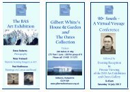 A Virtual Voyage Conference The BAS Art Exhibition - The Antarctic ...