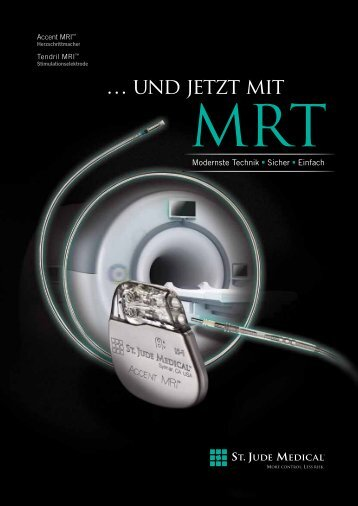 Informationsbroschüre Accent MRI - St. Jude Medical