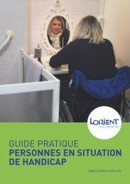 Guide pratique Personnes en situation de Handicap - Capgeris