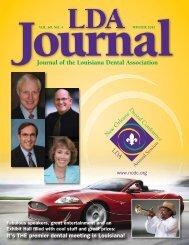 Journal of the Louisiana Dental Association Journal of the Louisiana ...