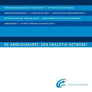 Brochure: Arbeidsmarktvisie(pdf, 105 kB) - Uwv
