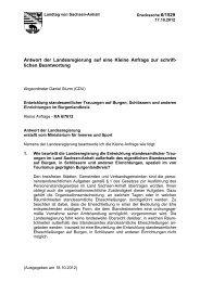 Anfrage Entwicklung standesamtlicher Trauungen ... - Daniel Sturm