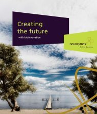Creating the future - Novozymes