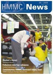 Firemní zpravodaj (ke stažení v pdf) číslo 3/Květen 2008 - HYUNDAI ...