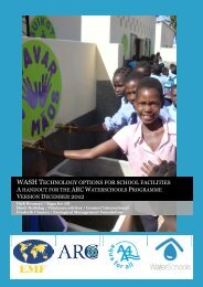 WASH Solutions For Schools Handbook - Alliance of Religions and ...